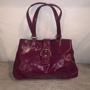 Coach Soho Plum Handbag